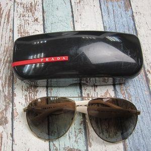 Prada SPR 53Q ZVN-6E1 Women Sunglasses/OLM254
